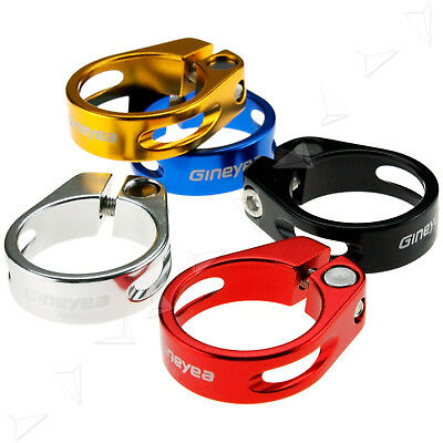 5 Colors 31.8/34.9mm  MTB Bike Cycling Bicycle Seat Post Clamp Aluminum Alloy