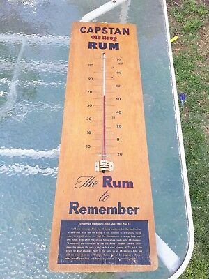 Vintage Rum Thermometer