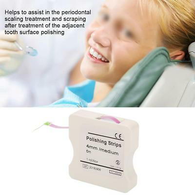 1Roll 4mm Dental Polishing Strip Teeth Whitening Grinding tool