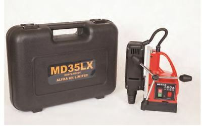 Alfra MD35LX Magnetic Rotabroach Drilling Machine Mag Drill In Carry Case 240v