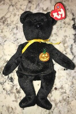 2000 TY Beanie babies Collection Haunt the Bear Plush Toy retired