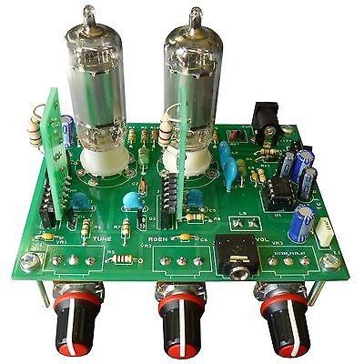 Tube Regenerative Radio Kit with Varactor Tuning & Plug-In Coils ... iGen Kit