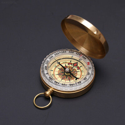 B217 1Pc Portable Luminous Outdoor Camping Hiking Compass Navigation Keychain
