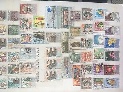 Africa a page of stamps mint / used mostly Cameroun incl better values