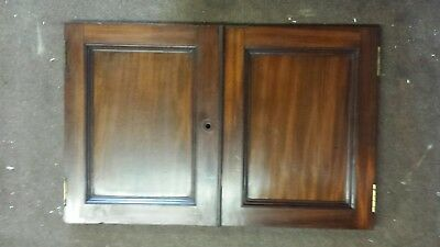 pair of victorian mahogany doors