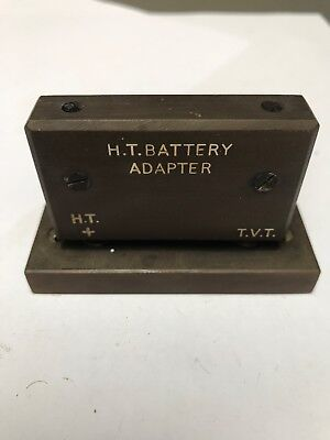 H.t Battery Adapter - Early Radio Gecophone ... - P354