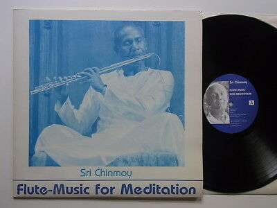 LP: Sri Chinmoy: Flute-Music for Meditation (+ Booklet; SCLP2; mint-)