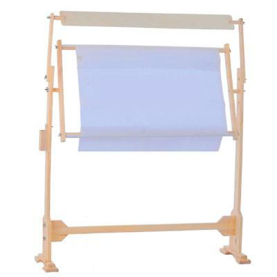 Adjustable stand rack solid wood frame holder for tapestry cross stitch 75cm