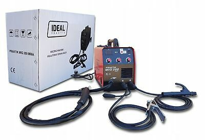 IDEAL PRAKTIK 200A inverter welder MIG MAG FCAW ARC MMA GAS & GASLESS FLUX IGBT