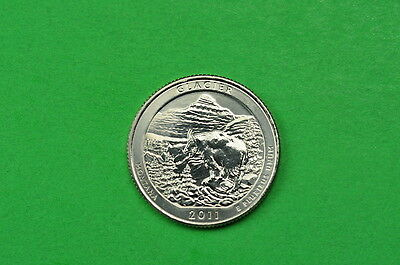 2011-D  BU  Mint State  (Glacier) US National Park Quarter