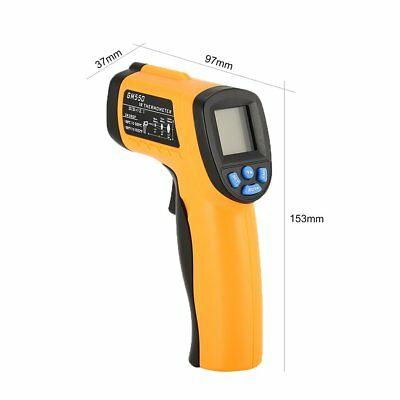 GM550 Digital Handheld LCD Infrared Thermometer Temperature Gun Non Contact ML