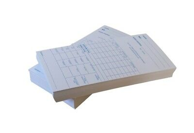 Clock Cards - Weekly Clocking in Time Recorder Attendance Cards (85x188mm)