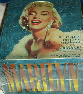 Marilyn Monroe Trading Cards 1 NEW BOX of 36 Packs with a FREE BONUS!
