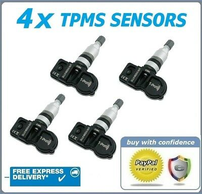 TPMS TYRE PRESSURE VALVE SENSORS HAMATON X 4 FIT BMW 6 SERIES 2014 ONWARDS