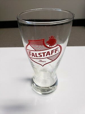 Vintage Falstaff Beer Glass