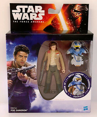Star Wars The Force Awakens 3.75 Inch Armour Figure Space Mission - Poe Dameron