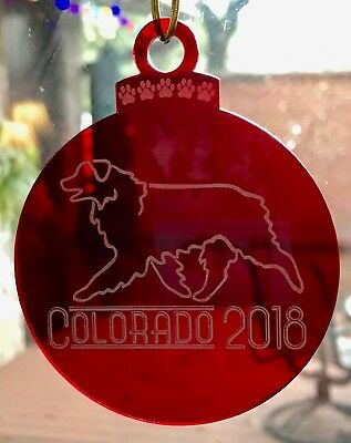 Aussie Rescue - Red Christmas ornament