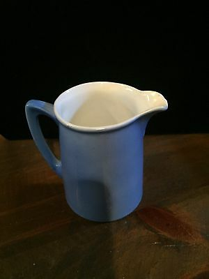 Vintage, Germany, creamer, blue,