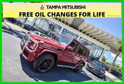 2015 Mercedes-Benz G-Class G 63 AMG® ~~ All Wheel Drive ~~ Luxury Mercedes ~~ 2015 G 63 AMG Used Turbo 5.5L V8 32V Automatic 4MATIC SUV Moonroof Premium