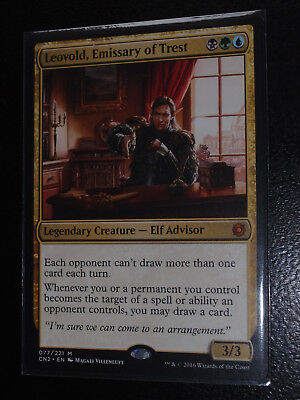 Magic 1x Leovold Emissary of Trest Conspiracy Take the Crown MTG mint