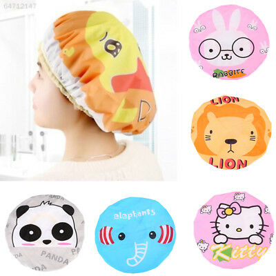 1309 Cartoon Bathing Cap Children Cute Animals Water Playing Bathing Accessory