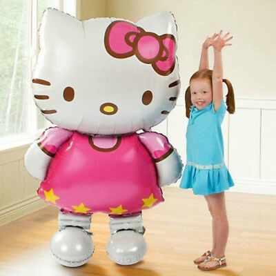 Hello kitty Cat Leaf Balloons Inflatable Comics