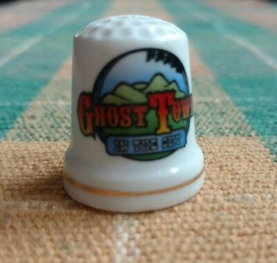 Collectible thimbles - Ghost Town in the Sky - Lot of 16