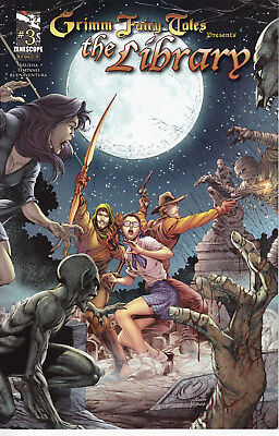 US Zenescope Grimm Fairy Tales: Library 3