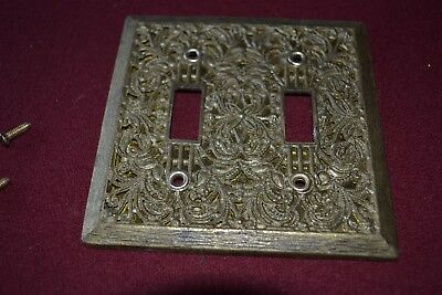 Mid-Century Modern Vintage Light Switch Plate Cover