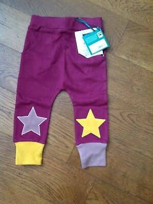Berry Star Joggers from Little Green Radicals - size 1-2 years