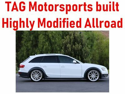 "2013 Audi Allroad built by TAG Motorsports Highly modified -- AWE / K04 / CTS / 20"" ADV.1 wheels - Over $20k in mods"