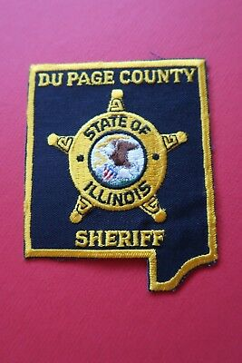 NEW / UNUSED - DuPAGE COUNTY SHERIFF, ILLINOIS - POLICE SHOULDER PATCH