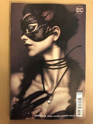 CATWOMAN #4 Jones Main Foil Cover + Artgerm Lau Variant DC Comics NM 10/10/18