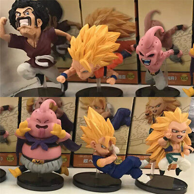 6pcs Dragon Ball Z DBZ Super WCF World Collectable 30th Vol.4 Figures Toy In Box