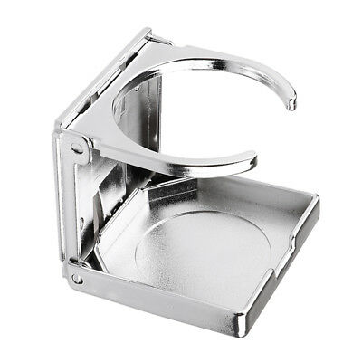 Silver Cup Holder Beverage Drink for Car Boat Foosball Table Kayak High Quality