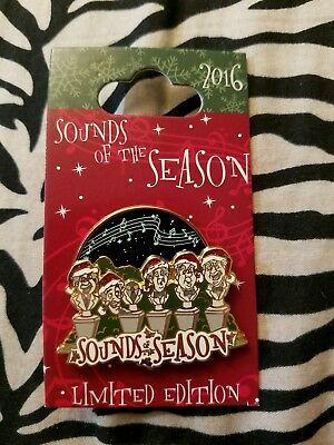 Disney Pin Sounds of the Season 2016 Haunted Mansion Singing Busts LE Christmas