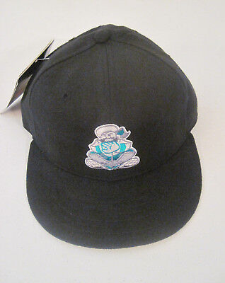 Vintage Edmonton Trappers New Era 5950 Pro Model Hat Wool Size 7  New With Tags