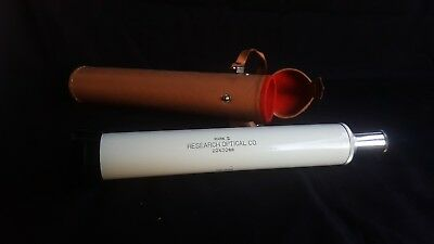 Vintage RESEARCH OPTICAL Telescope Mark II 20 x 30 mm untested