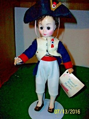 Vintage Madame  Alexander  # 1330 Napoleon 12 inch Doll no box with tag