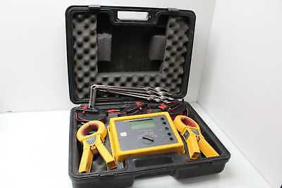 Fluke 1623 Earth/Ground Tester Geo / Ground Resistance Tester Kit