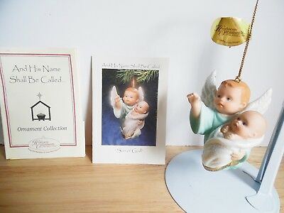 1998 Ashton-Drake Porcelain Ornament And His Name Shall Be Called Son of God VGC