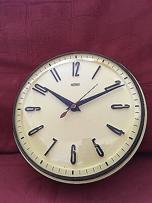 Vintage Metamec  kitchen wall clock
