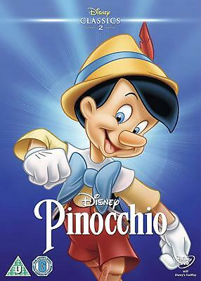 Pinocchio Disney DVD Brand New and Sealed 8717418442231