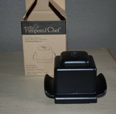 Pampered Chef #1124 Food Holder For Microplane Shredder Grater