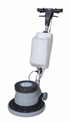 Industrial Floor Polisher Machine with (1 Tank + 2 Brushes + 1 Pad Holder + 3 Pa