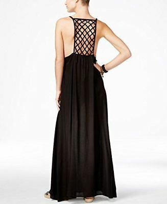 faa20c928b964 NEW RAVIYA SWIM Swimsuit Cover Up Maxi Pockets Dress Sz S Black ...