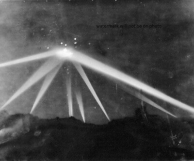 "The Battle of Los Angeles UFO Conspiracy 8""x 10"" World War II Photo"