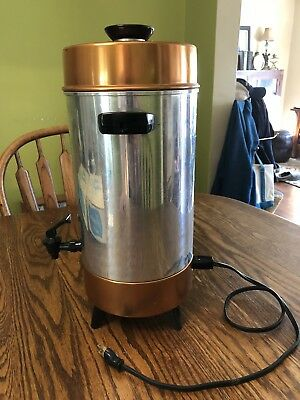 VTG Penncrest  Mid Century Automatic Percolator Coffee Maker Urn Pot - JC Penny-
