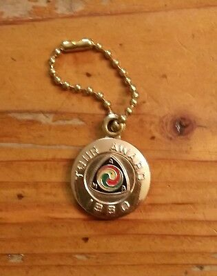 Original 1960 AMA Gypsy Tour Motorcycle Keychain   Never Uses