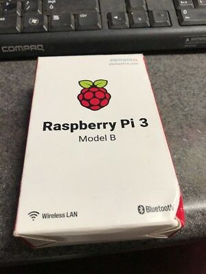 Raspberry Pi 3 1GB RAM Model B 1.2GHz Quad Core WiFi & Bluetooth 4.1 64bit CPU